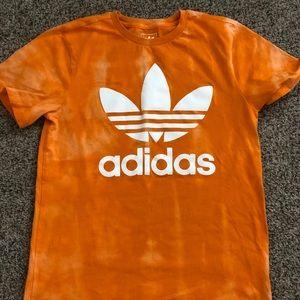 ✨BLEACHED✨ NWOT Adidas shirt